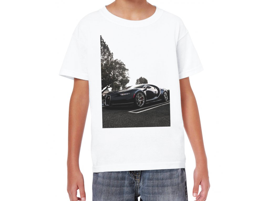 Dětské tričko Bugatti chiron
