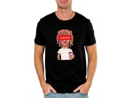 Pánské tričko Gucci Gang Lil pump Esskeetit