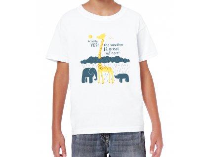 Dětské tričko Počasí