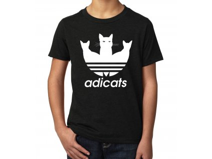 Dětské tričko Adicats Parodie Adidas