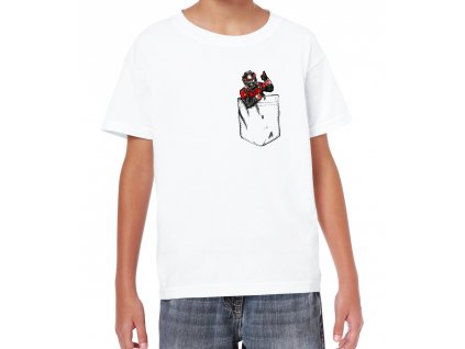 Dětské tričko Ant Man Kapsička na prsou