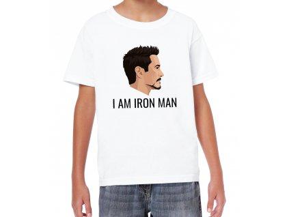 Dětské tričko Avengers End game Já jsem ironman