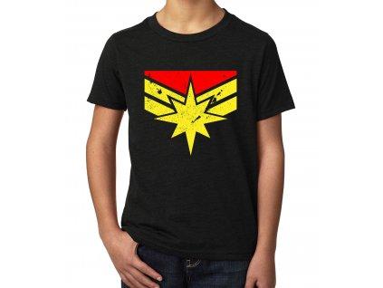 Dětské tričko Captain marvel