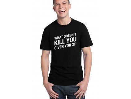 pánské černé tričko GTA zkušenosti