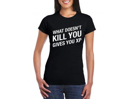 dámské černé tričko GTA zkušenosti