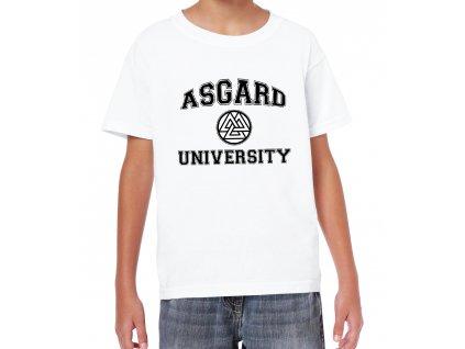 Dětské tričko Thor Asgard univerzita