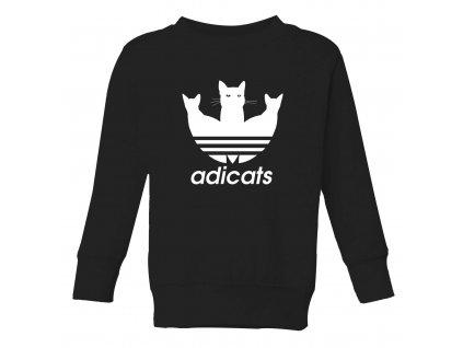 Dětská mikina Adicats Parodie Adidas