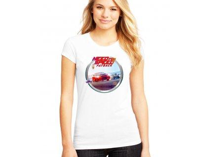 dámské bílé tričko need for speed payback