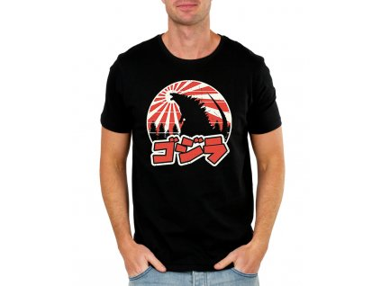 panske tričko Godzilla