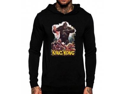 mikina s kapuci King kong