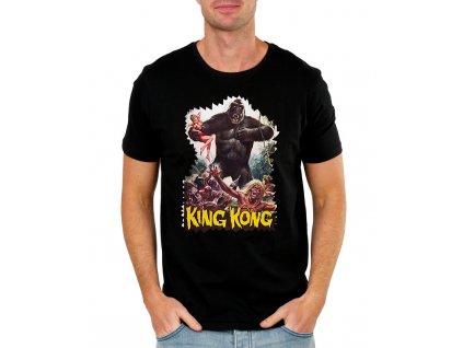 panske tričko King kong