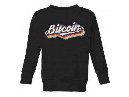 detska mikina Bitcoin duha
