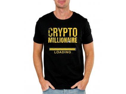 panske tricko Bitcoin milionář