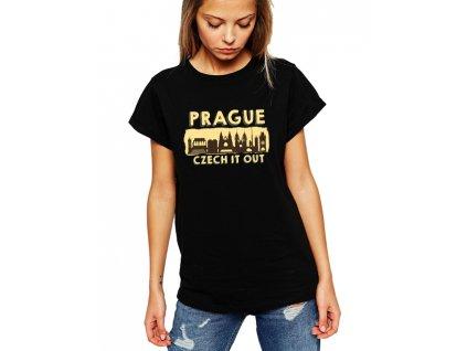 dámské černé tričko praha