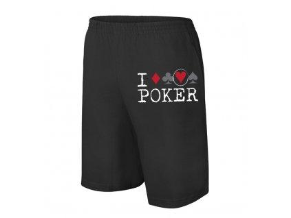šortky Miluji Poker