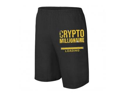 šortky Bitcoin milionář