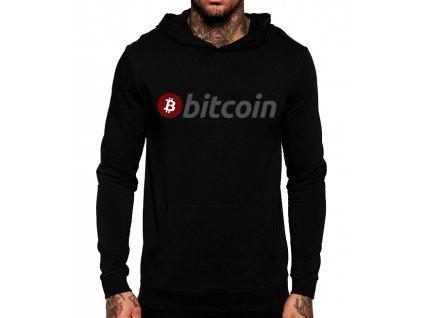 mikina bitcoin kapuce