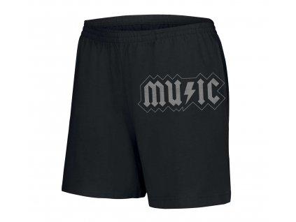 dámské šortky AC DC hudba