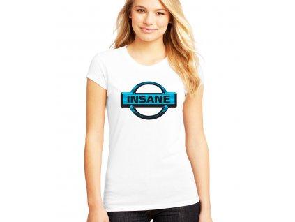 dámské bílé tričko nissan insane