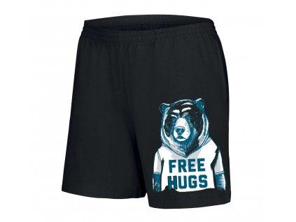 dámské šortky Medvěd Objetí Zdarma