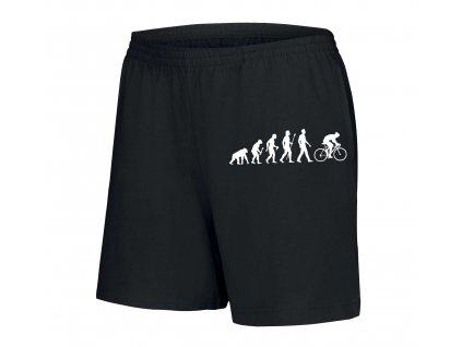 dámské šortky Cyklistika evoluce