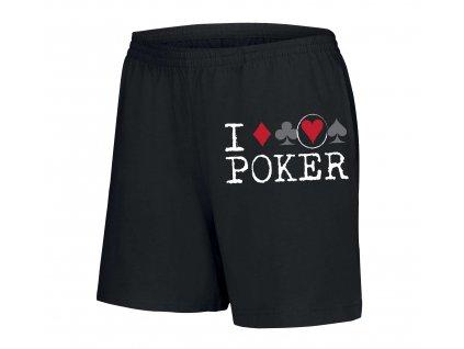 dámské šortky Miluji Poker