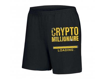dámské šortky Bitcoin milionář