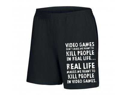 dámské šortky Video Hry Zabíjejí