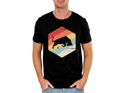 pánské tričko Býk investor