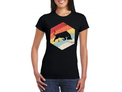dámské tričko Býk investor