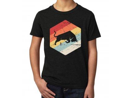 dětské tričko Býk investor