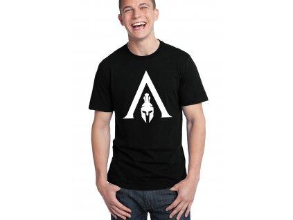 pánské černé tričko Assassin's Creed Odyssey