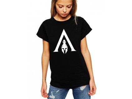 dámské černé tričko Assassin's Creed Odyssey