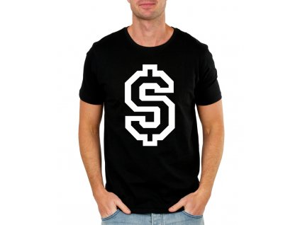 pánské tričko dolar symbol