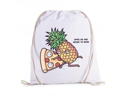 vak Pizza a ananas