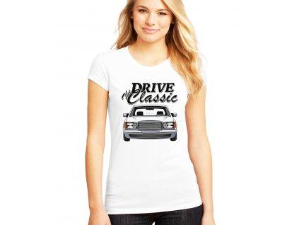 dámské bílé tričko Mercedes Benz W126