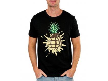 panske tricko Ananas granát
