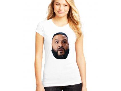 dámské bílé tričko DJ Khaled Překvapený