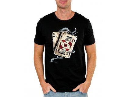 panske tricko Poker AJ