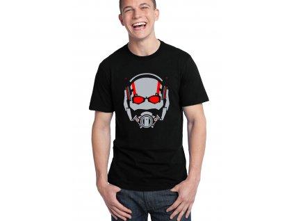 pánské černé tričko ant man