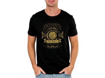 pánské černé tričko John Wick Continental