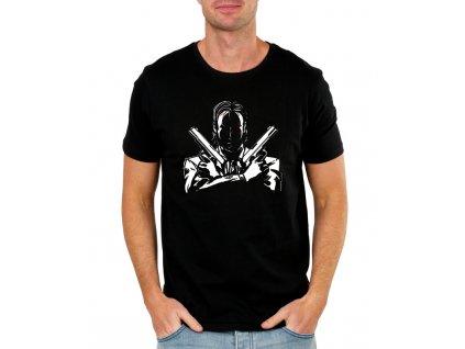 pánské černé tričko John Wick Zabiják