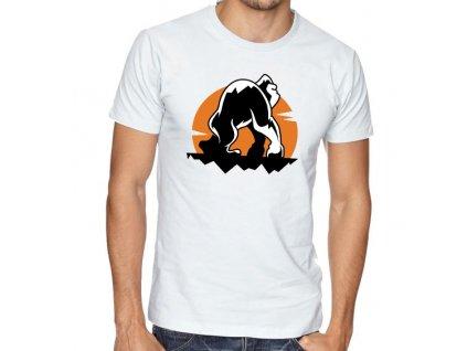 pánské bílé tričko Rampage Gorilla