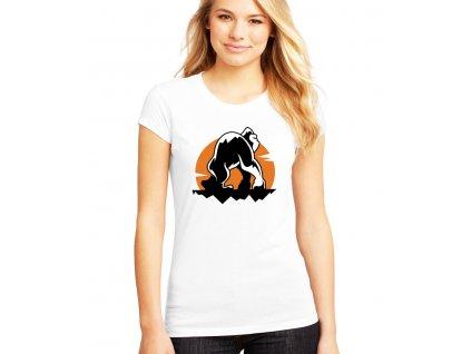 dámské bílé tričko Rampage Gorilla