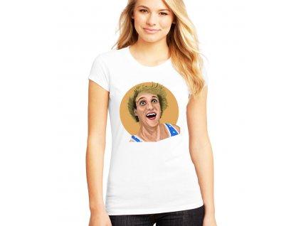 dámské bílé tričko logan paul