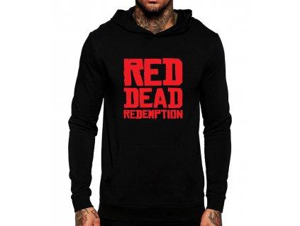 unisex mikina s kapucí red dead redemption