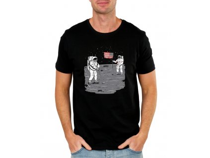 Pánské tričko Golf na Měsíci