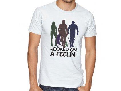 pánské tričko hooked on a feelin