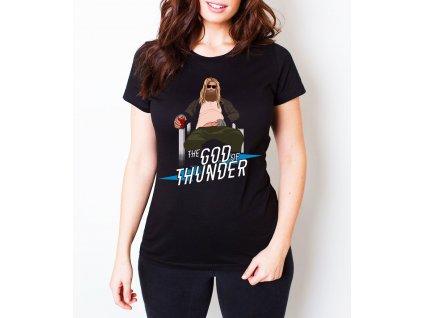 Dámské tričko Avengers Endgame Bůh blesku