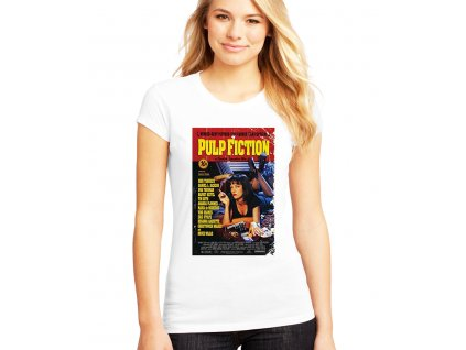 Dámské tričko Pulp Fiction film